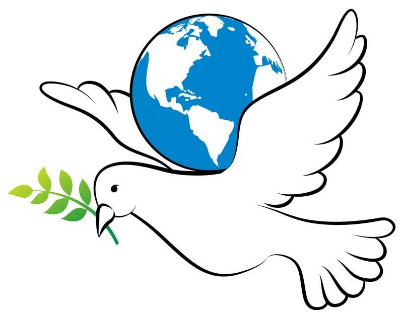 Свежие, картинки для детей голубь мира на прозрачном фоне